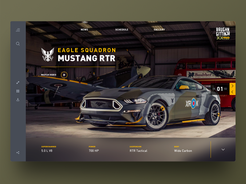 Rtr Eagle Squadron By Rob Robertson On Dribbble