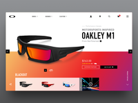 Oakley M1 Product Page