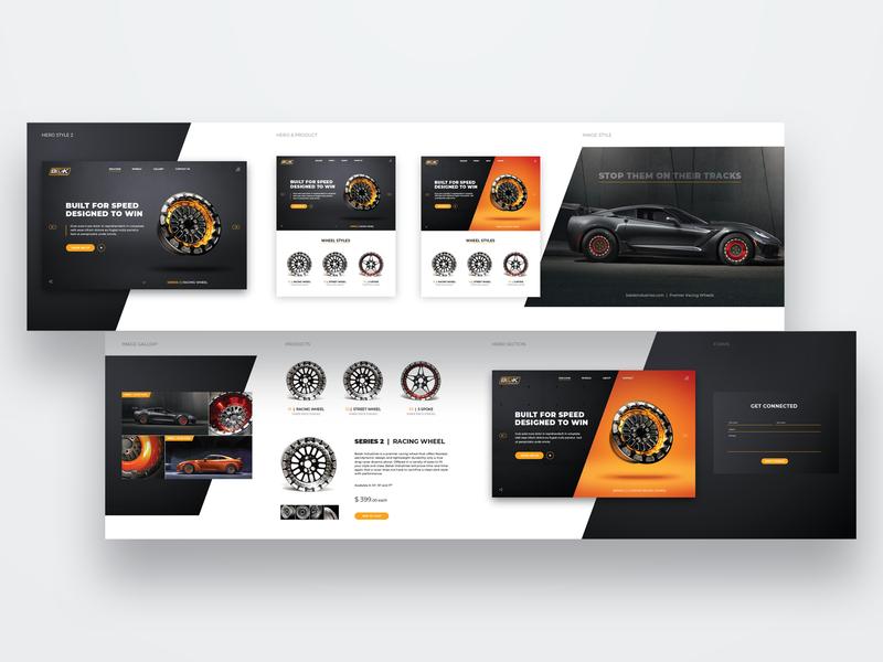 Belak Stylescape dragracing wheels motorsports racing stylescape design website ux webdesign ui