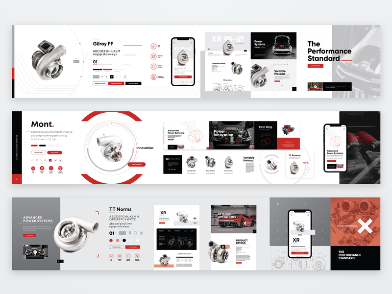 Turbocharger Website Stylescapes stylescape turbo motorsports concept webdesign ux ui