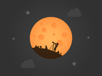 Looking at Lunar Eclipse