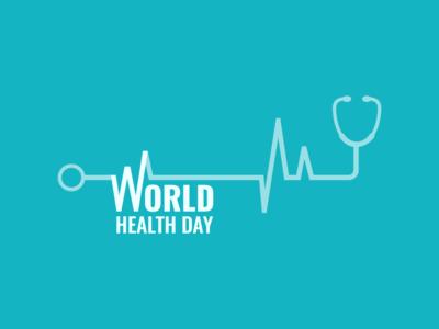 World Health Day - Typography