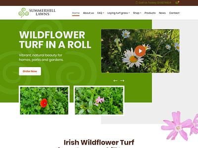 Summerhill Lawns Wildflowers page landscape design landscaping landscape flowershop flowers flow gardens