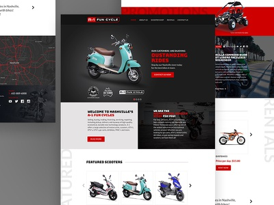 A-1 Fun Bike fun-bike automotive motorcycle scooters bike