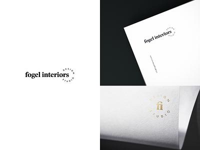 Fogel Interiors Branding interior design branding brand