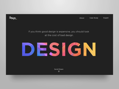 Design Website illustraion 2danimation landing page typogaphy space web animation astronaut designer website design