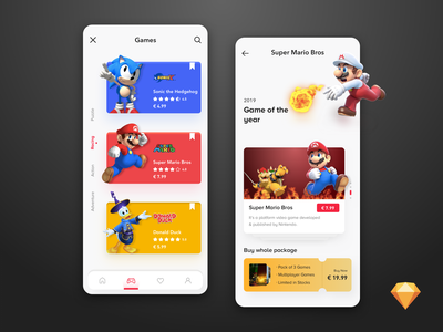Game User Interface - Exploration free cards xbox booking app games character payment event buy ticket gradient freebies freebie 3d sketch supermario game design 3d art nintendo game