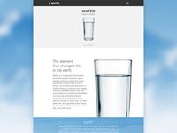 Water (Ui Design Apple Style)