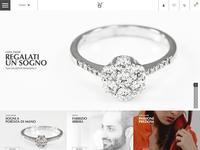 BS Gioielli Design (UI Design Web Site)