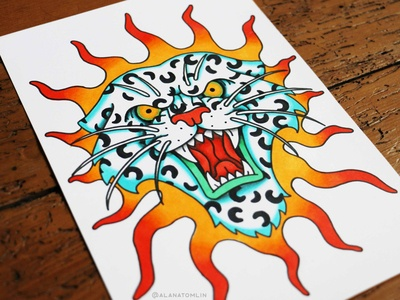 Fire Leopard