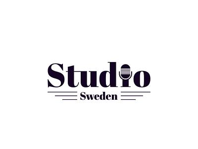 Studio sweden studio music logo design logodesign logos logotype dribbble dribbble invitation dribbble invite logo icon flat illustrator art illustrator cc illustrator adobe illustrator design amateur vector illustration
