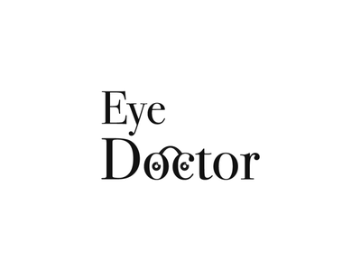 Eye Doctor graphic design digital dribbble invitation dribbble invite doctor logo design logotype logodesign logos logo icon flat illustrator art illustrator cc illustrator adobe illustrator design amateur vector illustration