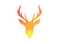 Colored Deer