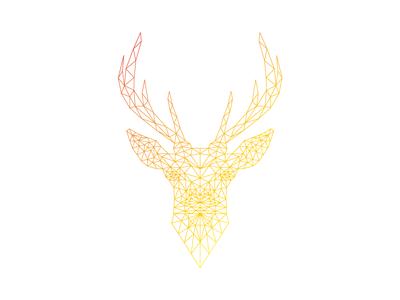 Lineart Deer