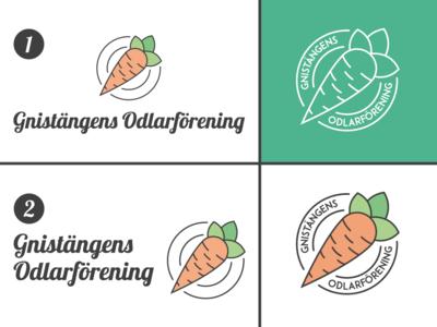 Gnistängens Odlarförening Logotype