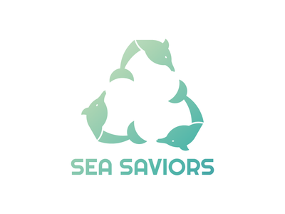 Sea Saviors global warming climate change logo design animal logotype branding flat design dribbble invitation logo icon dribbble invite dribbble invite giveaway flat illustrator art illustrator adobe illustrator design amateur vector illustration