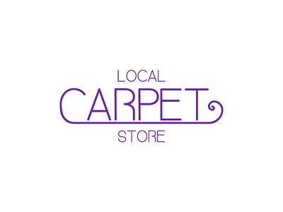 Carpet store purple graphicdesign graphics graphic graphic design logodesign logo design logotype logos logo icon flat illustrator art illustrator cc illustrator adobe illustrator design amateur vector illustration