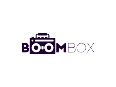 Boombox flatdesign graphicdesign graphic design boom box boombox logo design logos logodesign logotype logo icon flat illustrator art illustrator cc illustrator adobe illustrator design amateur vector illustration