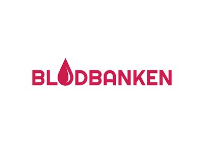 Blodbanken graphic design graphics graphic graphicdesign blood logotype logo design logodesign logos logo icon flat illustrator art illustrator cc illustrator adobe illustrator design amateur vector illustration