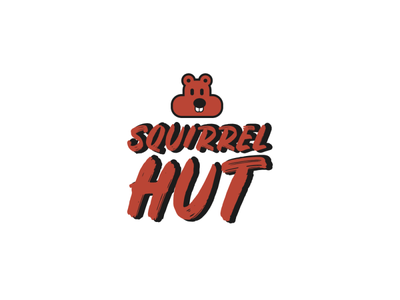 Squirrel HUT graphic design graphicdesign graphics graphic animal logo design logodesign logotype logos logo icon flat illustrator art illustrator cc illustrator adobe illustrator design amateur vector illustration