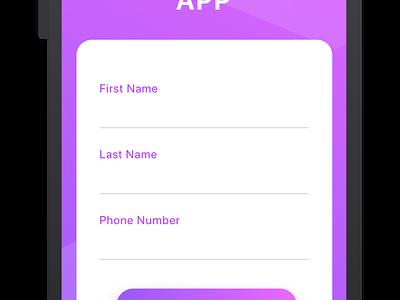 Social share mockup freebie download free sketch freebie ui  ux design ux ui flat clean art gradient social iphone ios app android