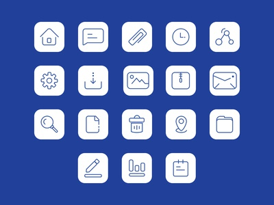 User Interface icons set ( 1 )