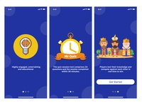 Onboarding Screens for Quiz App
