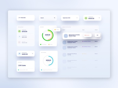 Finance Management SaaS App UI saas app saas illustration websites web design web ux ui design