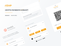 Rave by Flutterwave - Crypto Payments Concept
