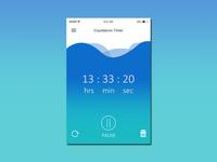 dailyui #014 Countdown Timer