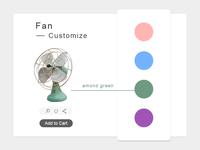 dailyui #033 Customize Product