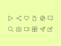 dailyui #055 Icon Set
