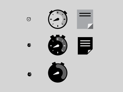 Testing Running App Icons icons app stopwatch
