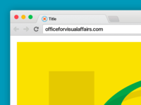 Pixel Perfect Chrome OSX 10 Browser Mockup