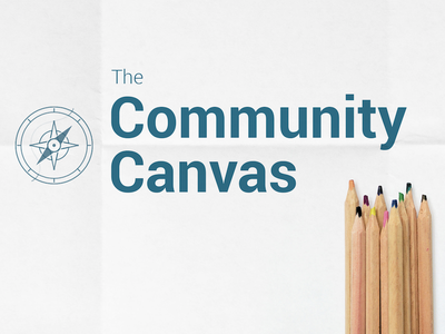 Community Canvas Cover freebie free photography illustration branding startup community building