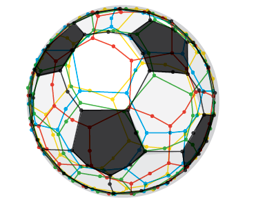 Soccer Euro 2012 illustration