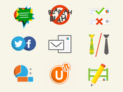 Feature Icon Set icon urtak