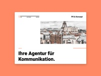 PR Agency Web Design
