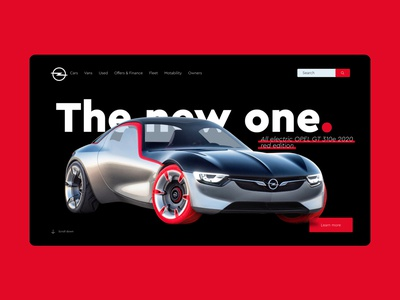 OPEL WEBSITE REDESIGN