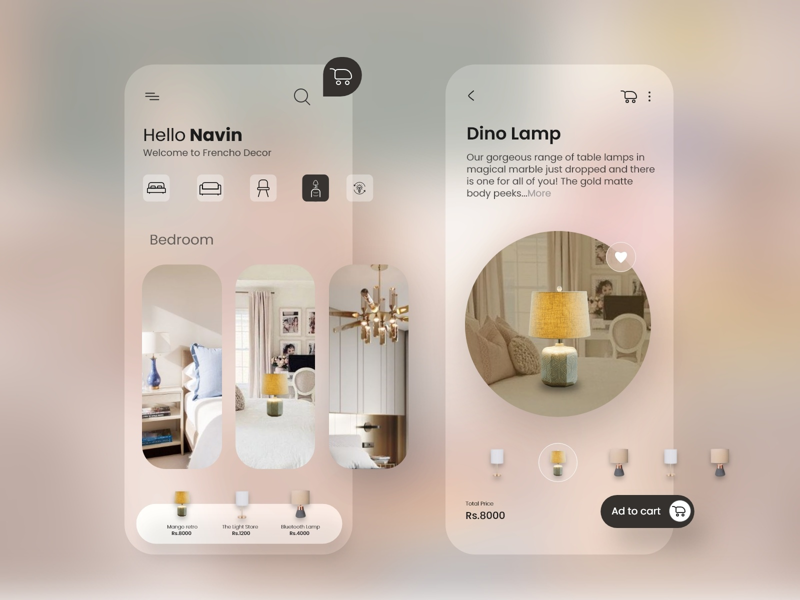 Home Decor App By Navin Silawat On Dribbble