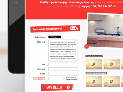 Show your interior design! ui ux design rwd e-commerce ecommerce web design webdesign art direction creative advertising