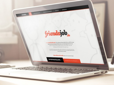 friendsjob.de ui ux design rwd e-commerce ecommerce web design webdesign art direction creative friendsjob