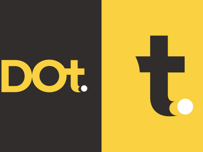 DOT. minimal conceptual dot. logo