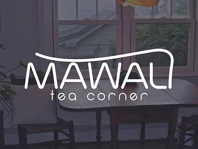 Mawali tea logo clean illustration design typography creative minimlist vector logo branding unique modern type minimalist logo flat
