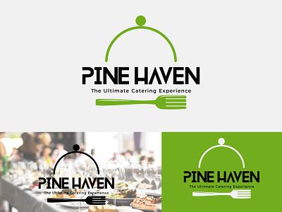 pine heaven minimalist clean illustration design typography minimlist creative logo vector branding unique type modern minimalist logo flat