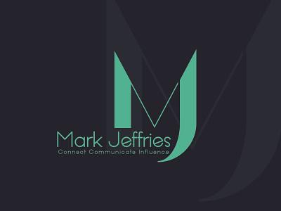 mj typography minimlist creative logo vector branding unique type modern flat minimalist logo