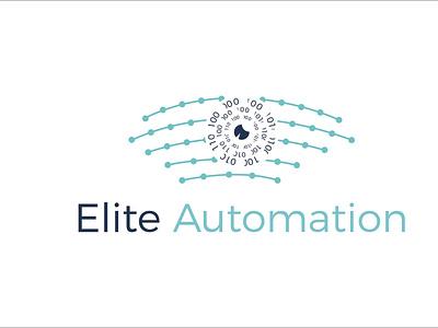 Elite Autuomation minimlist creative logo vector branding unique flat type modern minimalist logo