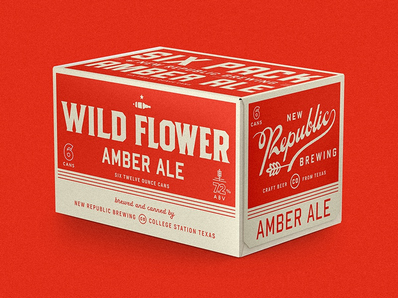 Wild Flower texas beer