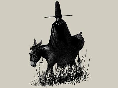 106 immigrant gaucho illustration