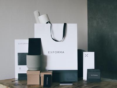 Enforma corporate identity design